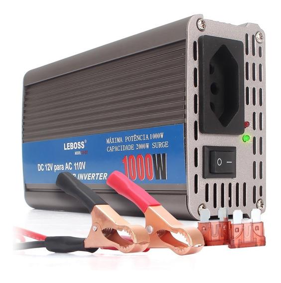 Inversor Tensao 12v 110v 1000w Transformador Lb521 Conversor
