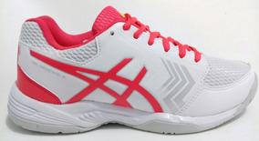 Tênis Asics Gel Dedicate 5 A Branco/rosa
