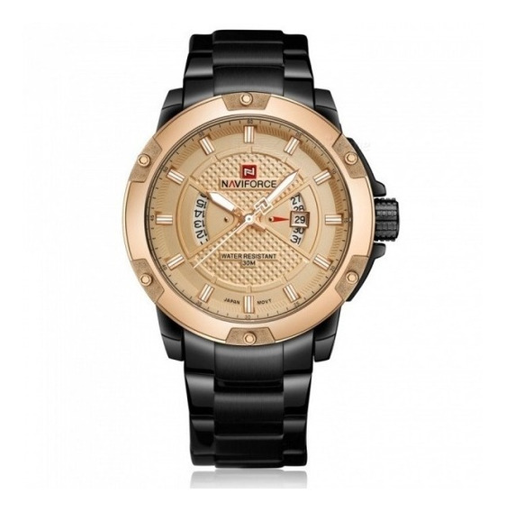 Reloj Naviforce 9085 Original Elegante Casual + Caja