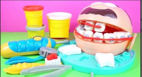 Non-toxic Dough - Brincando De Dentista