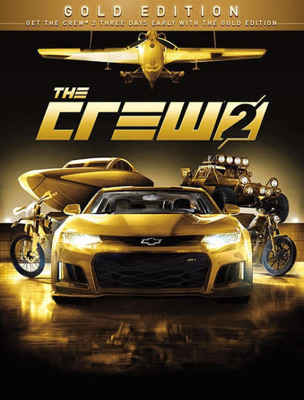 The Crew 2 Gold Edition Psn Ps4 Code 1