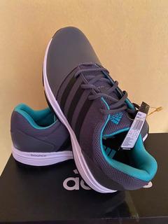 Zapatos De Golf Azules adidas Water Proof