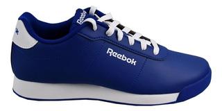 Tenis Reebok Clasicos Mujer Azul Royal Charm Cn7866