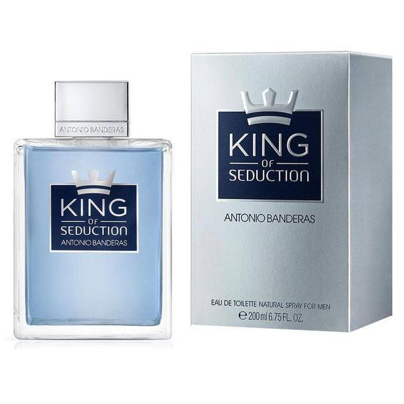 King Of Seduction Antonio Banderas - Eau De Toilette 200ml