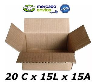 25 Caixas De Papelão 20 X 15 X 15 Tipo 1g Correio Pac Sedex