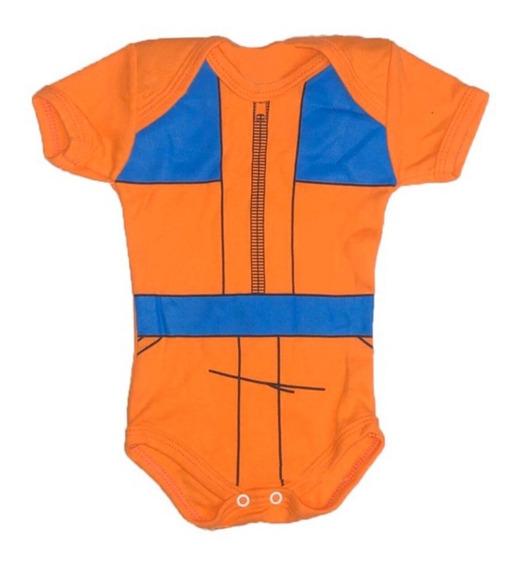 Promoção Body Bebê Naruto Personagem Divertido Temático