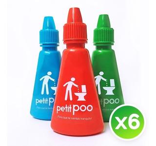 Eliminador De Olores Sanitarios Petit Poo X 6