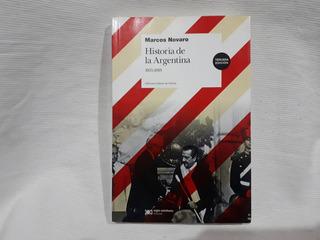 Historia De La Argentina 1955-2010 Marcos Novaro Siglo Xxi