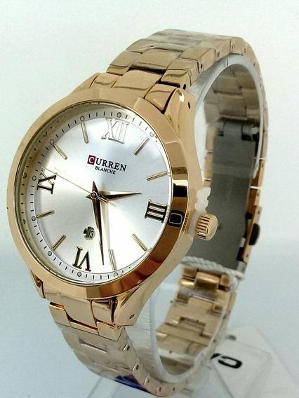 Relógio Curren Barato Feminino Casual Luxo Envio Rápido!