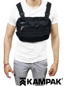 Pechera Doble Chest Bag Con Bolsa Invisible Tactica