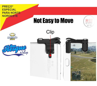 Gatilhos Kit 2 Free Fire Para Celular L1r1 Pubg V3.0