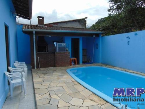 Imagem 1 de 30 de Ca 00083 - Casa Em Ubatuba, No Jardim Beira Rio, Praia Da Maranduba, Com Escritura - Ca00083 - 31911428