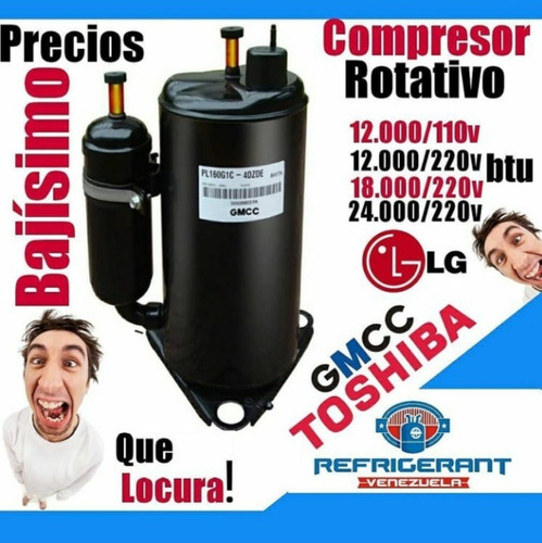 Compresor 12 Mil Btu 110v