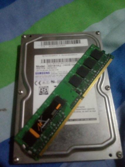 Memoria Ram Disco De 160gb Samsung