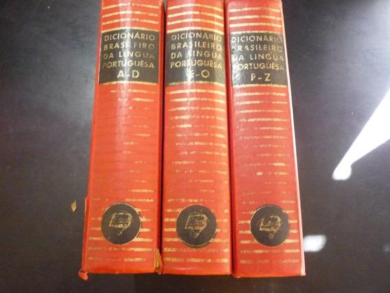 Dicionário Em 3 Volumes Antigo