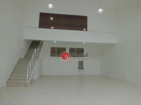 Salão Para Alugar, 200 M² - Tatuapé - São Paulo/sp - Sl0601