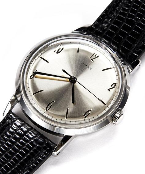 Reloj Timex Marlin Mecánico De Colección Unisex