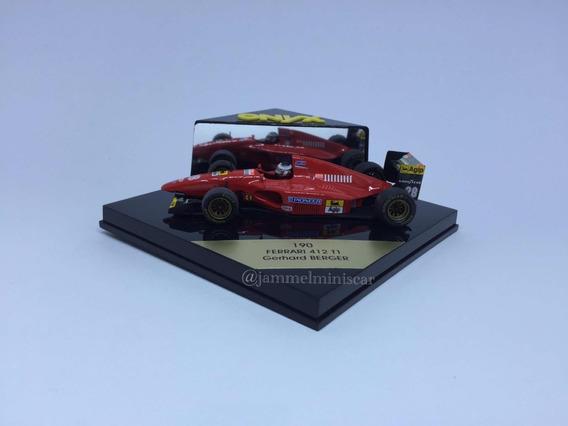 Miniatura 190 F1 Ferrari 412 T1 Gerhard Berger - Onyx - 1/43