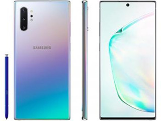 Smartphone Samsung Galaxy Note 10+ 256gb Prata 4g