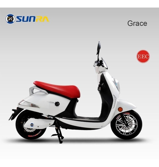 Moto Electrica- Scooter Sunra Grace- Baterias Y Repuestos