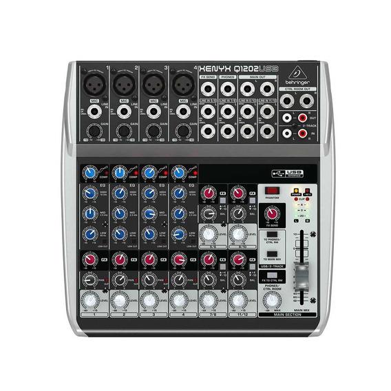 Mixer De Áudio Behringer Xenyx Q1202usb 110v Analógico