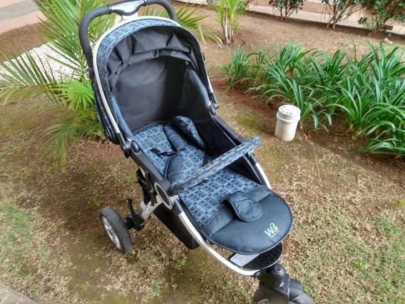 Carrinho De Bebê Burigotto W3 Netuno