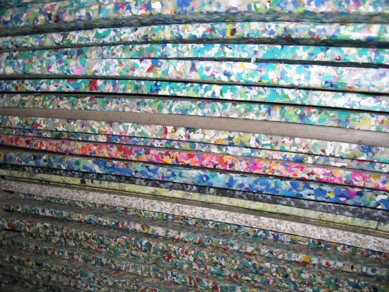 Triplay De Plástico Multicolor Reciclado 18mm.
