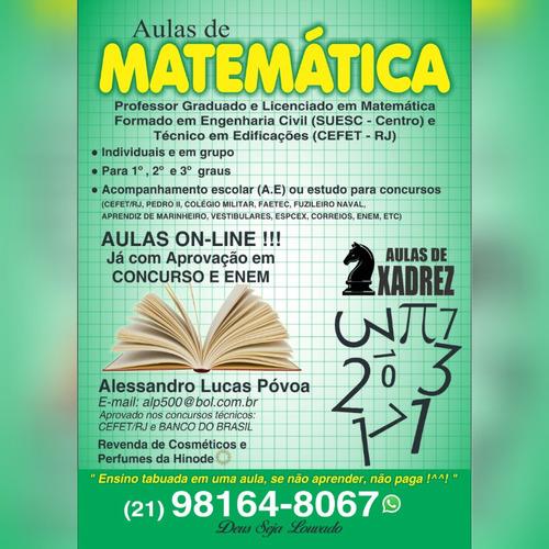 Aulas On-lines De Matemática, Aprenda A Tabuada Em Uma Aula!