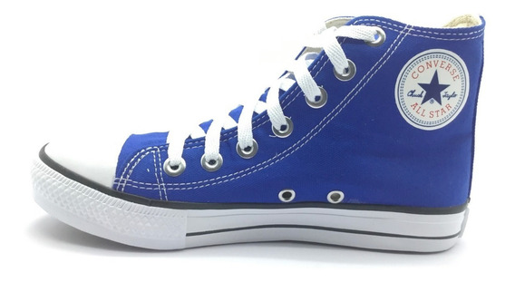 Tênis Converse All Star Cano Alto Azul Royal Bic