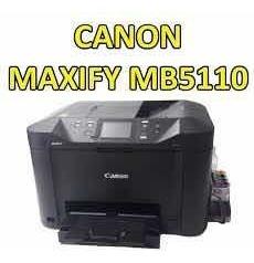 Multifuncional Canon Mb5110 Com Bulk Ink Elgance