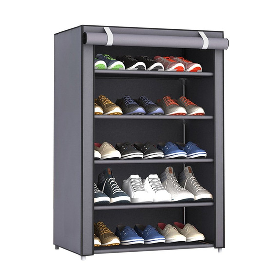 Dustproof Grande Tamanho Não - Woven Tecido Sapatos Cremalh
