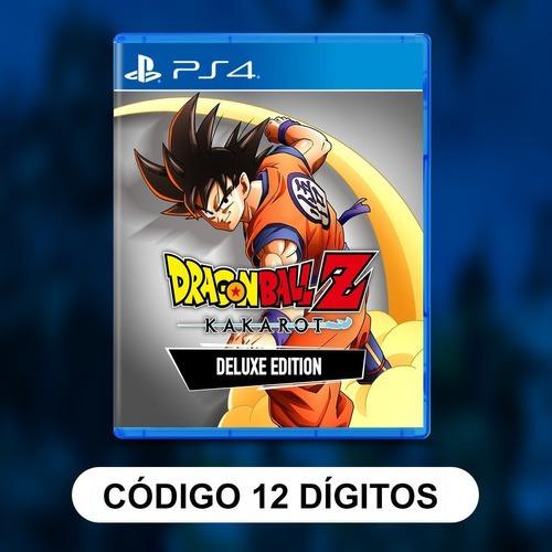 Dragon Ball Z: Kakarot- Edição De Luxo Ps4 Psn Envio Digit