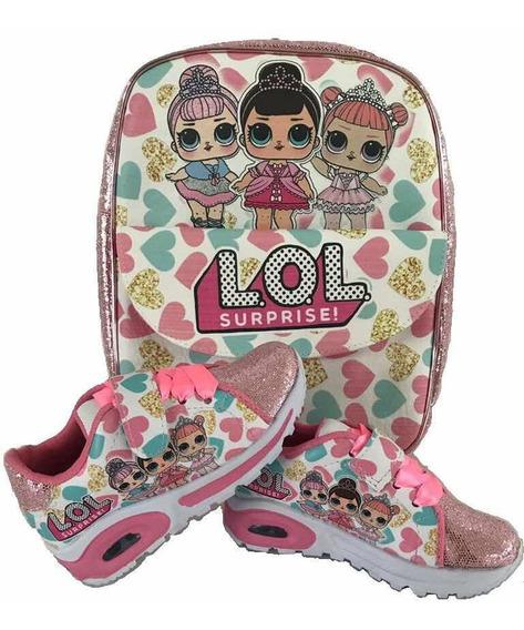Zapatos Lol Sorprise Con Luces Minnie 15 Vrds Oferta