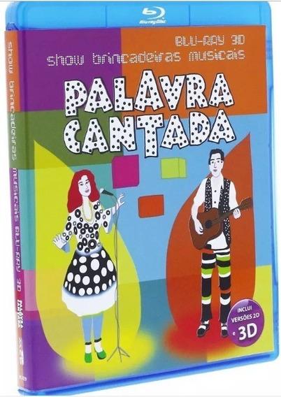 Palavra Cantada Show Brincadeiras Musicais 3d Blu-ray