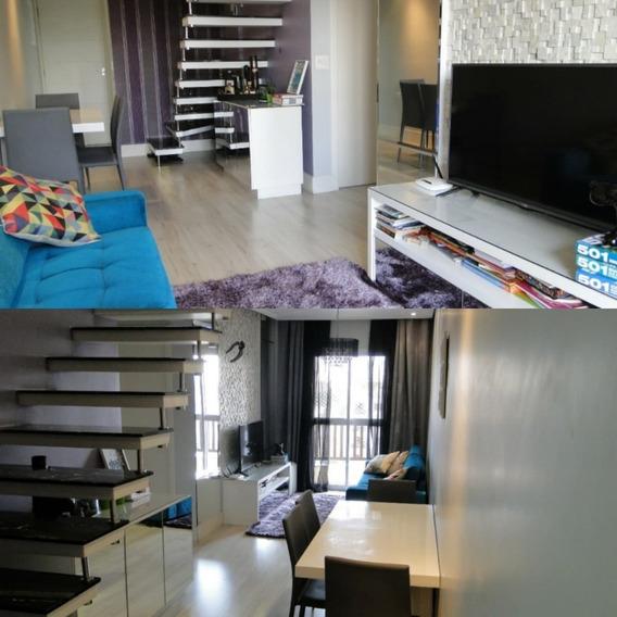 Cobertura 128m 2 Suites 1s 2 Vgs B Sta Maria São Caetano Sul