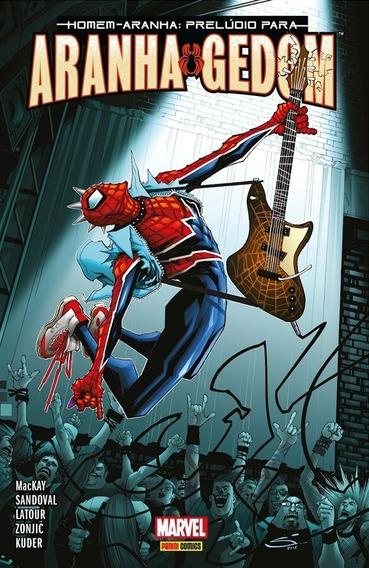 Homem-aranha Prelúdio Para O Aranhagedom Panini Comics