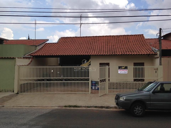 Casa Residencial À Venda, Jardim Primavera, Indaiatuba. - Ca0085