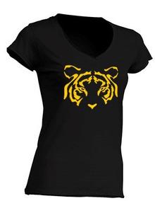 Blusa Dama Tigres / Cuello V