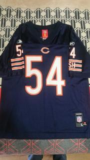 Jersey Usado Brian Urlacher Chicago Bears Nfl Talla De Niño