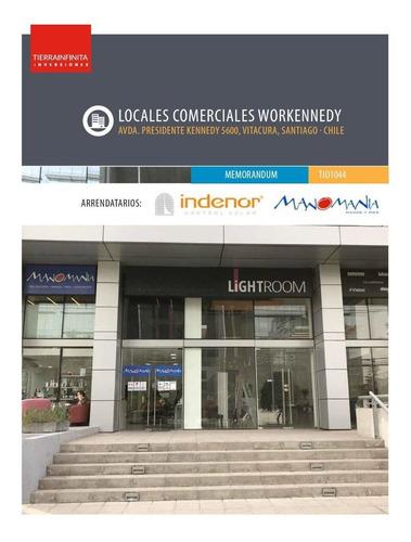 Imagen 1 de 19 de Locales Comerciales Con Renta Edificio Workennedy