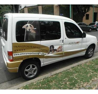 Transporte De Mascotas Y Sus Dueños Larga Distancia. Viajes