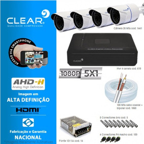 Kit De 4 Câmeras + Dvr