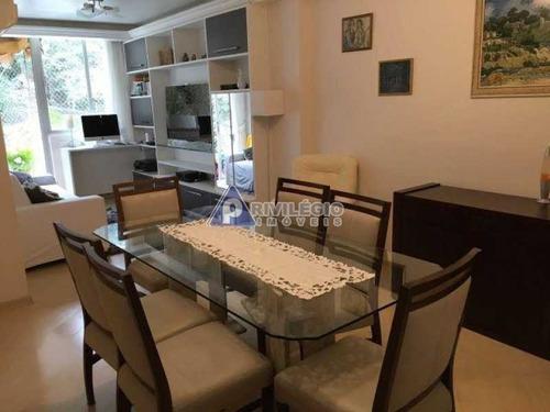 Imagem 1 de 6 de Apartamento À Venda, 3 Quartos, 1 Suíte, 2 Vagas, Copacabana - Rio De Janeiro/rj - 17678