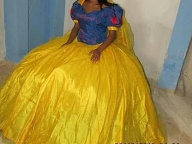 Remato!!! Vestido Nuevo Blanca Nieves!!!