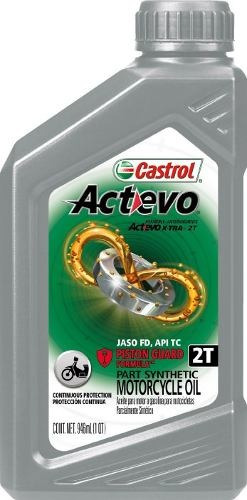 Castrol Actevo 2t Aceite Semi-sintético Cajax12 Ud Pinta