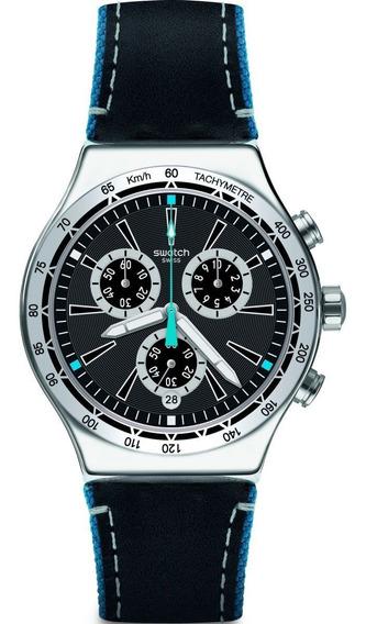 Relógio Swatch Blue Details Masculino Yvs442