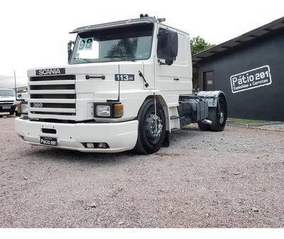 Caminhão Scania 113 360 Toco 4x2 Ano 1998 - Único Dono