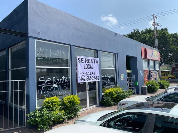 Renta Local Comercial Zona Industrial Benito Juarez, Qtro