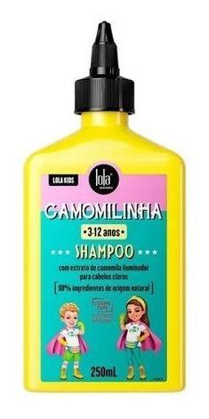 Imagem 1 de 1 de Shampoo Lola Kids Camomilinha 250ml * 3-12 Anos*