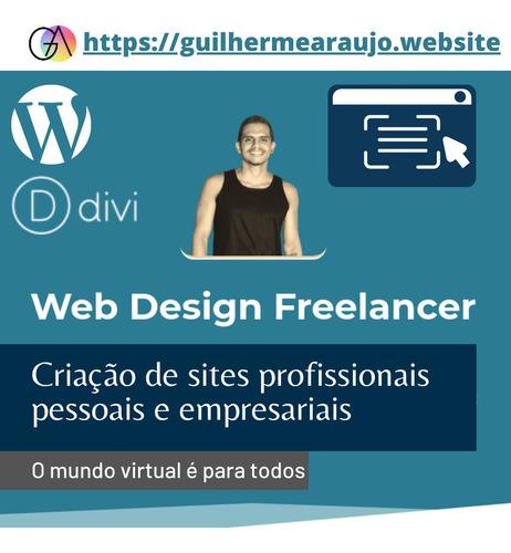 Imagem 1 de 1 de Sites Profissionais Personalizados Com Divi